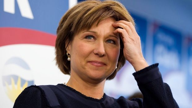 Premier Christy Clark says she'll outline the Liberal Party's election platform today less than 24 hours after British Columbians saw her playing the lead role in a folksy, paid television production where she met people in diners, at dinner tables and on rodeo grounds, where the horse she was riding took off on a wild gallop.  Read more: http://bc.ctvnews.ca/clark-delivers-election-platform-promises-to-stand-up-for-b-c-in-folksy-tv-address-1.1238424#ixzz2QYqck6OL