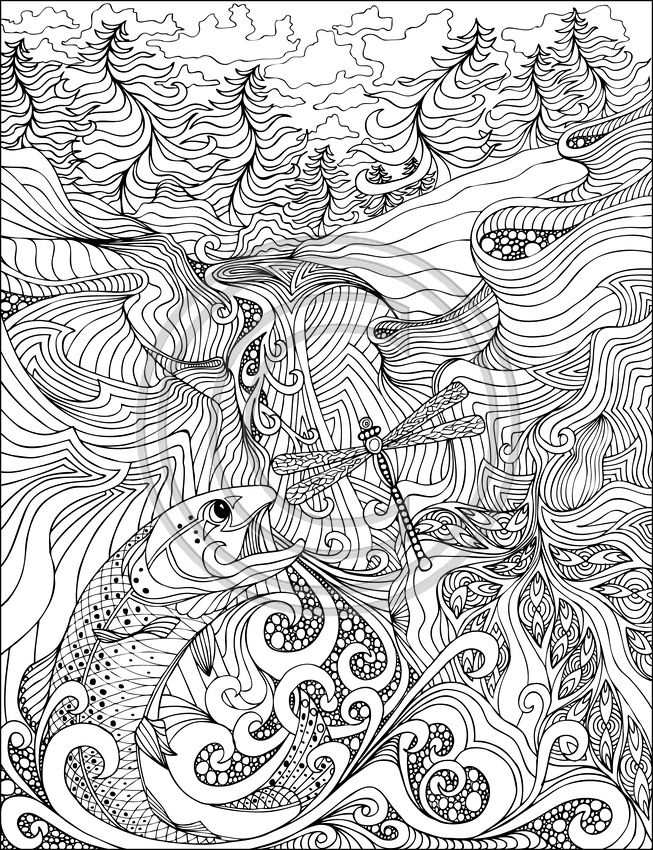 a coloring book for book for big kids abstract coloring pagescool - Cool Colouring Pages