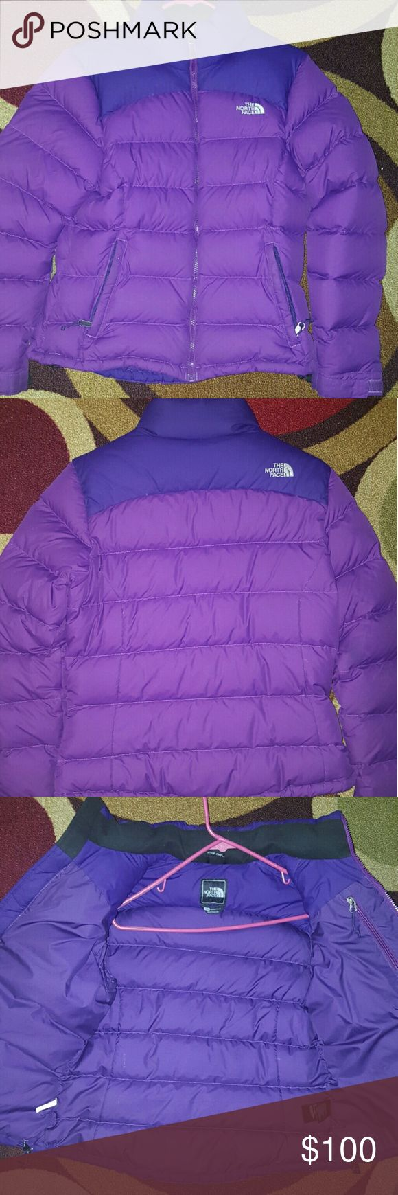 Ladies North Face Goose Down Ski Jacket Like new worn a few times.  The jacket is in great used condition, very nice color.  Accepting reasonable offers, please don't waste my time. North Face Jackets & Coats Puffers