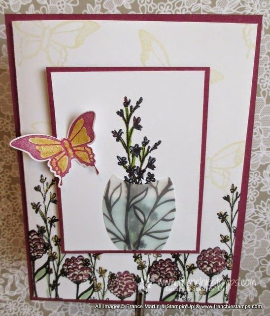 Stamp & Scrap with Frenchie: Sheer Perfection Vase and Nature's Perfection