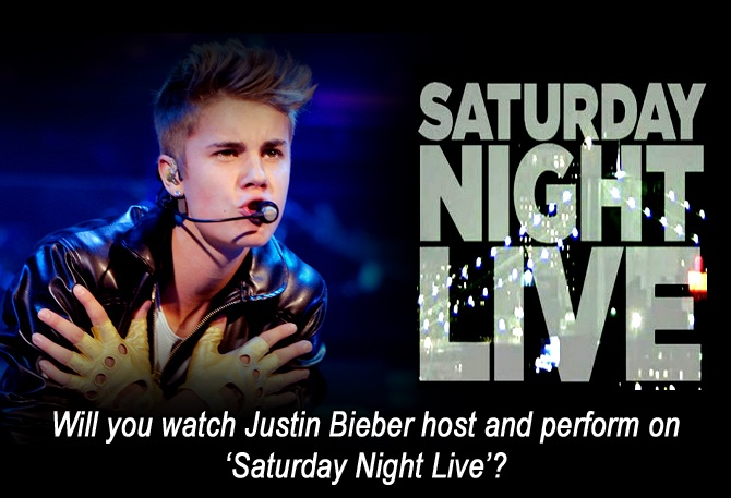 Will you watch Justin Bieber host and perform on 'Saturday Night Live'?