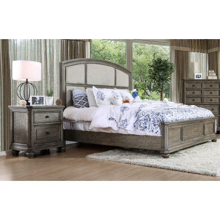 Furniture Of America Kineth Rustic Gray 2 Piece Bedroom Set Multiple Sizes Furniture California King Bedroom Sets Bedroom Furniture Sets