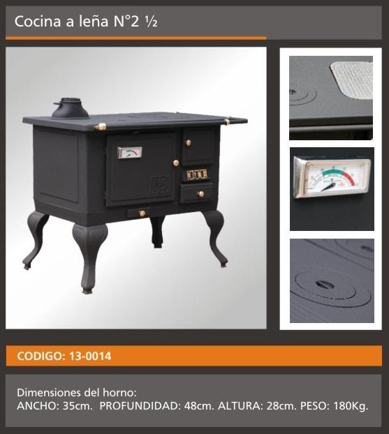 Cocinas economicas a leña grande:  WEB: www.filfer.com  cañuelas ruta 205 km 64,5