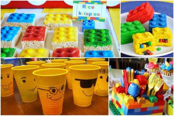 Encore plus de bonnes idées pour organiser une fête sous le thème des Lego