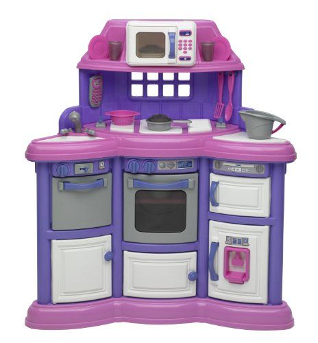 American Plastic Toys Playtime Kitchen Without Light And Sound