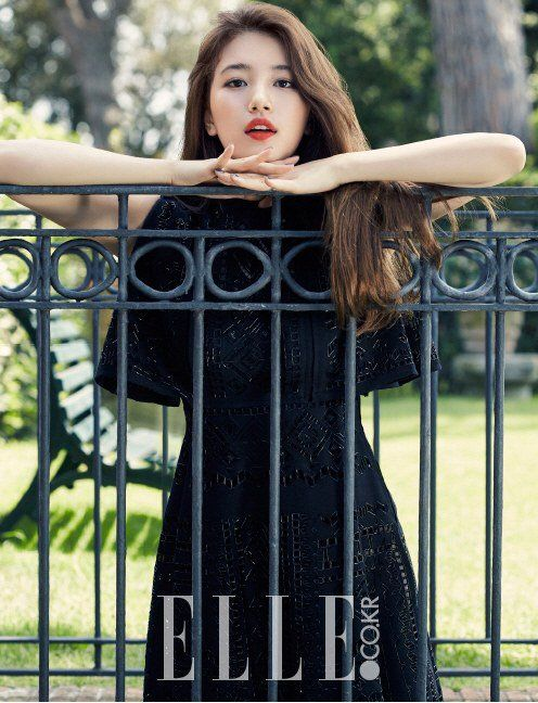 K-Pop — Suzy for ELLE Korea...