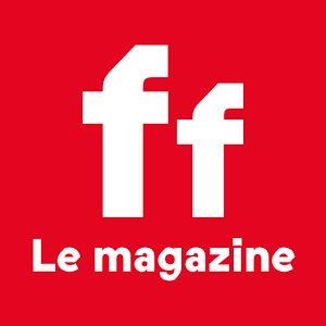 France Football magazine. The logo.