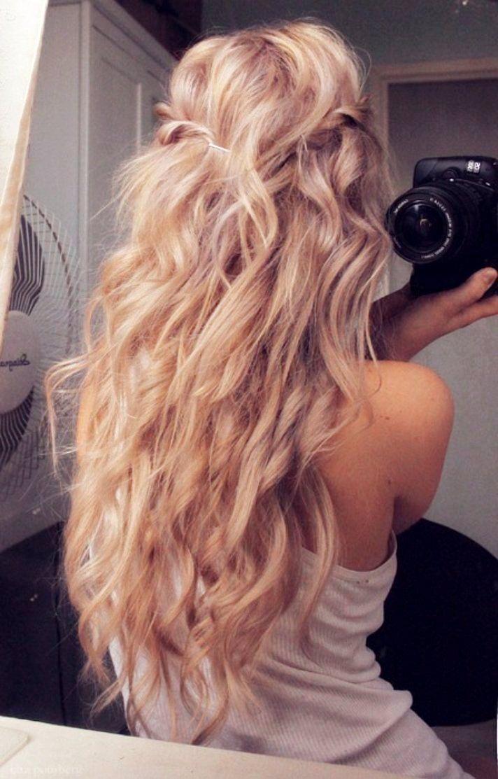 nice Красивая укладка на длинные волосы (50 фото) - как собрать непослушные локоны