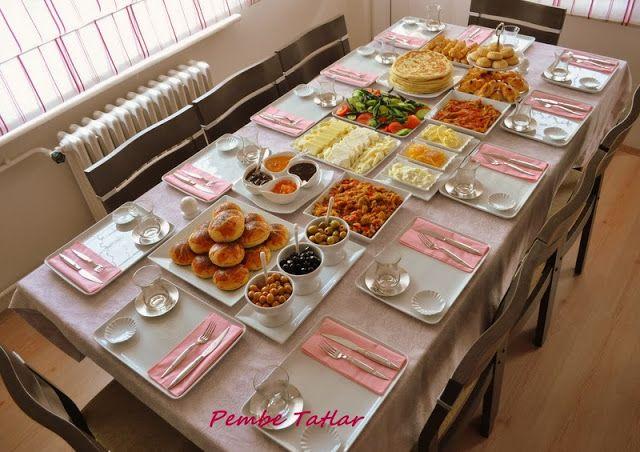 Pembe Tatlar: Davet masalarım
