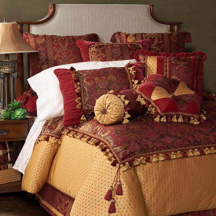 Jennifer taylor red basket bedding set master bedroom pinterest bed sets bedding sets and Master bedroom with red bedding