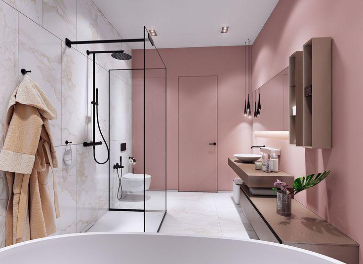 Pinkes Badezimmer Rosa Pink Pinkbathroom Badezimmer Rosa Badezimmer Wohnen