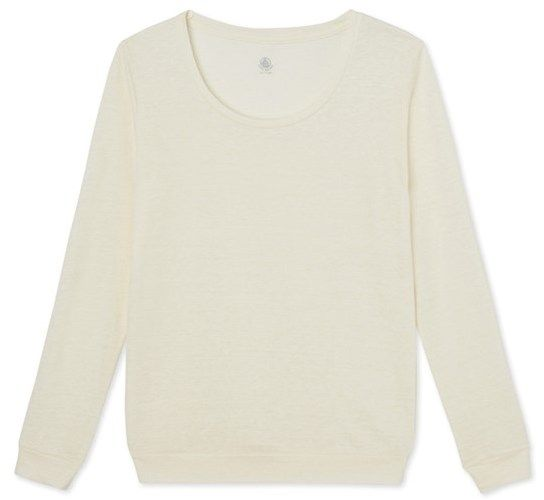 Womens linen sweatshirt