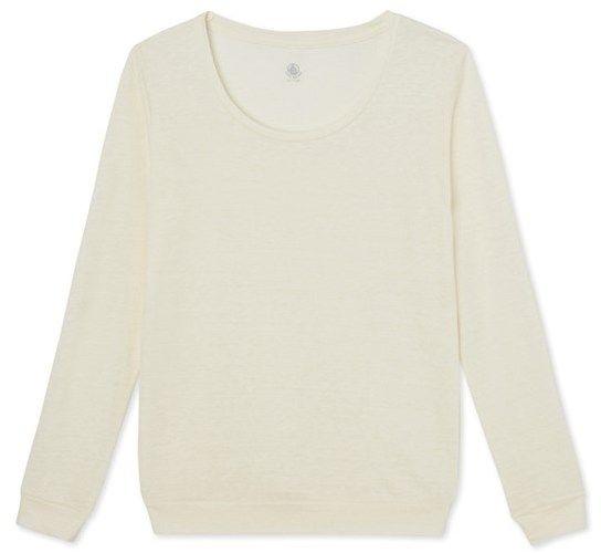Womens linen sweatshirt