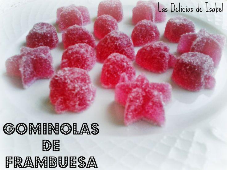 Las Delicias de Isabel: Gominolas de Frambuesa
