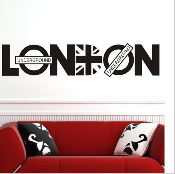 London Britpop Wall Decoration Sticker //Price: $12.24 & FREE Shipping //     #stickers