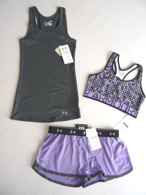 New Under Armour Womens Shorts DFO Nutech Tank Top Bra Bra Top
