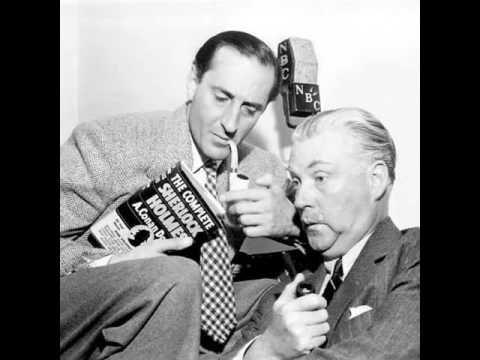 Old Time Radio   Sherlock Holmes   Lady Waverlys Imitation Pearls   1948
