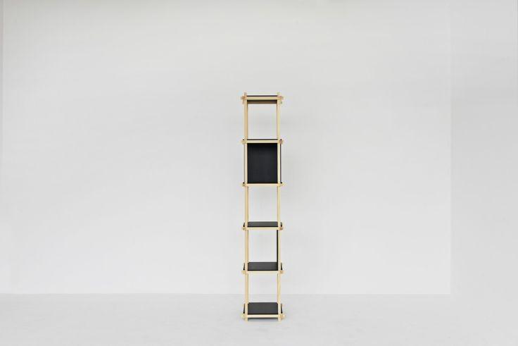 Knot Shelf 40, 6 levels. #mwa #makerswithagendas #mwadesign #agendadrivendesign #mwagram #nomadicliving #minimallogistics