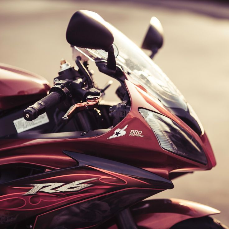 Yamaha R6 Motorcycle #wallpapers #image #pictures #photos Photographer (copyrights ©): Chup Dao. License: Only as personal wallpaper.