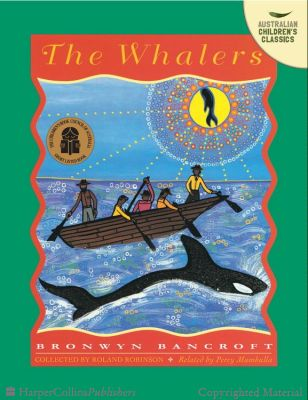 Yasmin Dvir - the whalers, Bronwyn Bancroft. Percy Mumbulla, the orator was a great Aboriginal storyteller, who was an important part of the elderly southern coast Aboriginal community. This book tells you about the best whale killer, and how they go out to hunt whales, night or day. If they hear or see a whale they will go and see if its is good to eat, and then get it out of the shore.