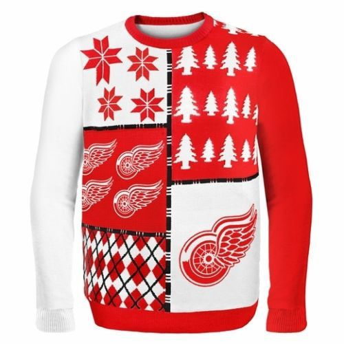 - This makes for a TRUE collectible for any fan! - Officially licensed NHL ugly sweater! - Meticulously knitted with care in your favorite team's colors! Be the life of every and any holiday party thi