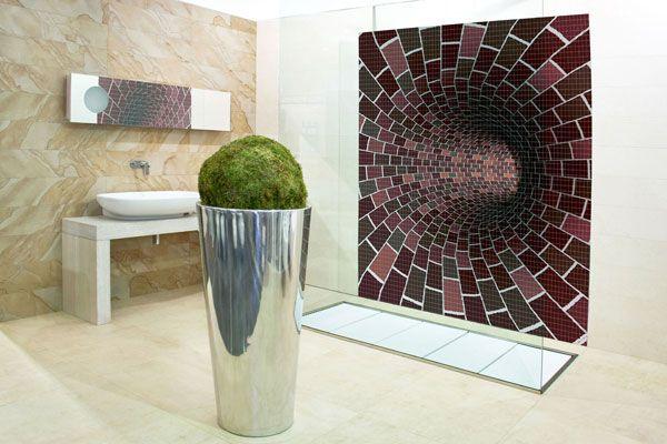 Mosaic Bathroom Designs Interior Beauteous Design Decoration