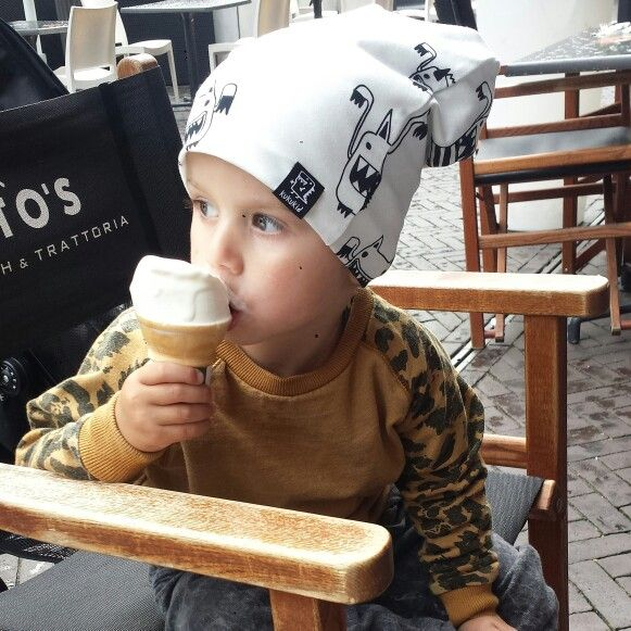 My boy.....kukukid beanie and jumper from munster kids