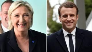 France elections: Macron-Le Pen through to run-off projections say