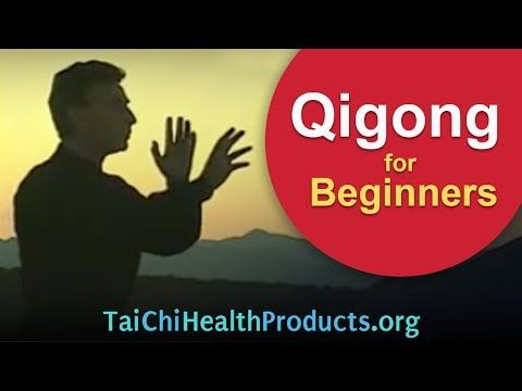 Daily Qigong for Beginners - 4 minute exercise - YouTube