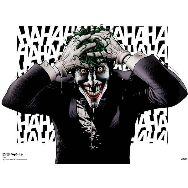 Batman's 75th Birthday print signed by Brian Bolland £30.00