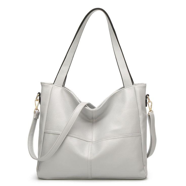 Women PU Leather High-end Handbags Retro Shoulder Bags
