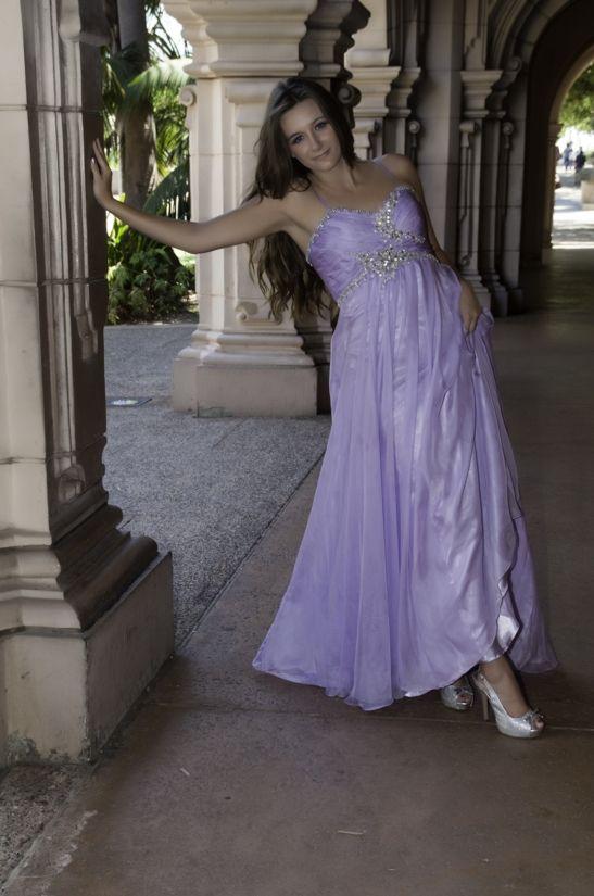Prom dress-Balboa Park
