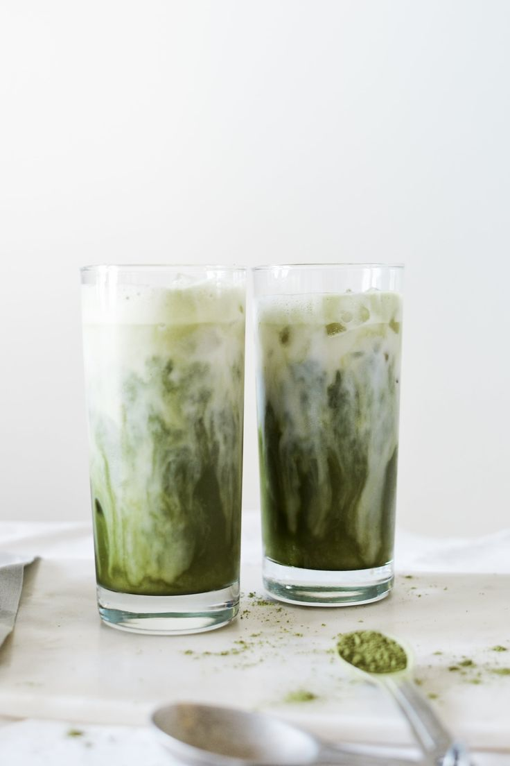 Iced Matcha Milk Latte- Noodoso