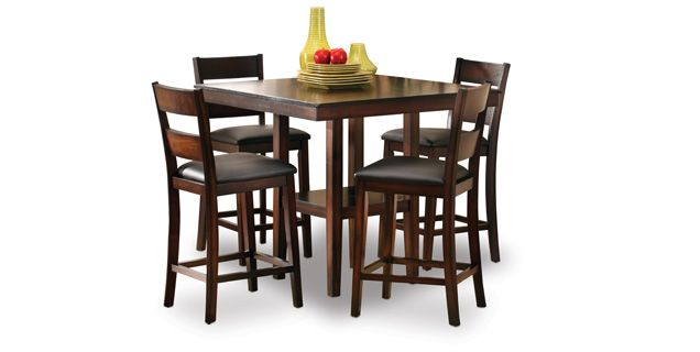 Oak Express Baltimore 5 Pc Dining Set D5 Stbad