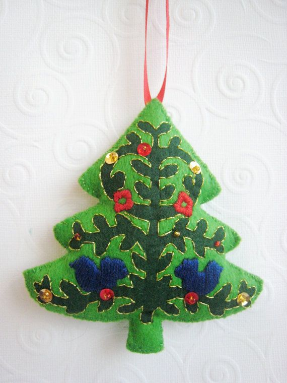 Wool Felt Christmas Ornament