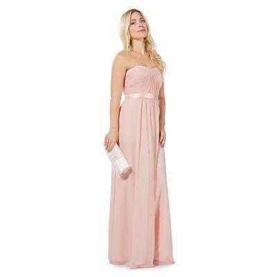 Debut Light pink 'Sophia' evening dress | Debenhams