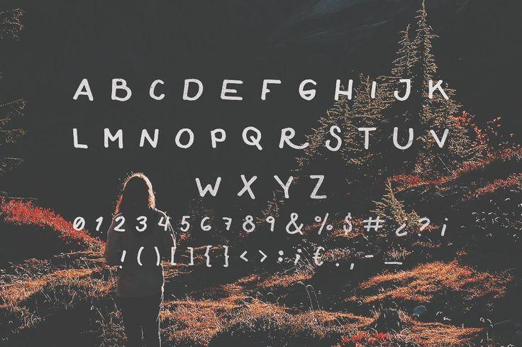 Compass Free Font by Noe Araujo on @creativemarket