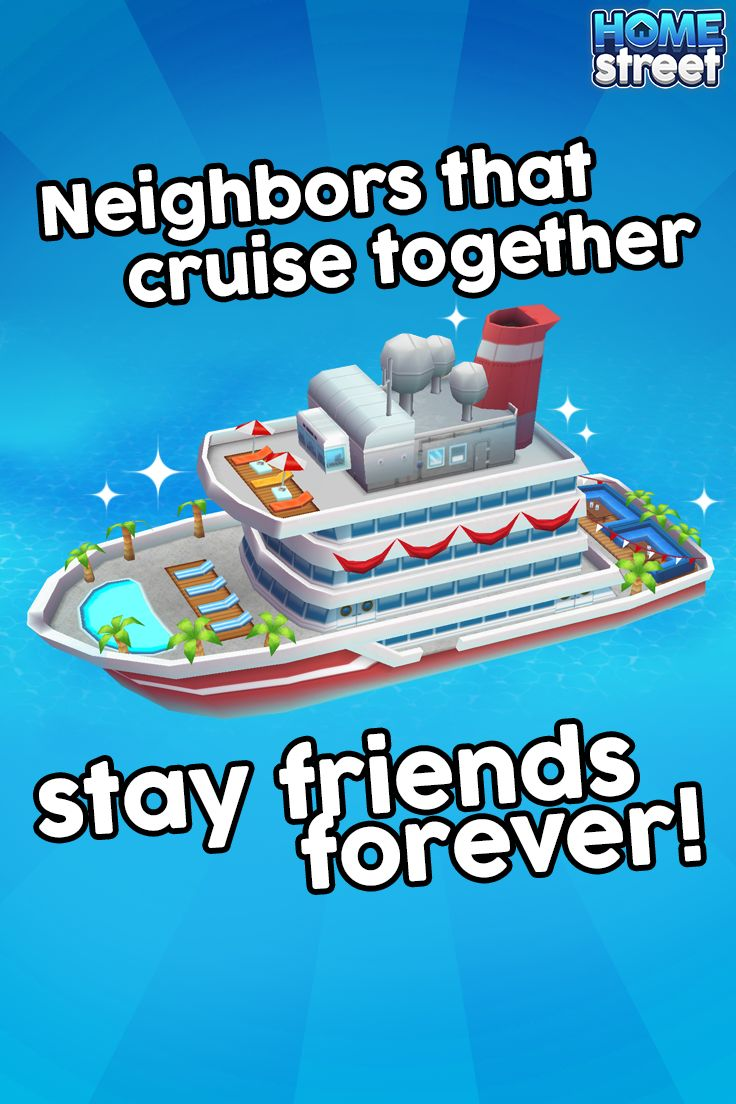 The Cruise Ship is even more fun with friends!  Look for a help icon on your friend's Cruise Ship while visiting their home and you can help them fill orders towards their completion reward!