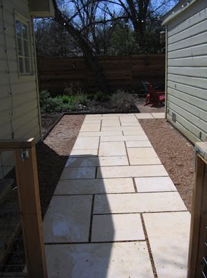 paver walkway possibly reddish color love the design simple with clean lines