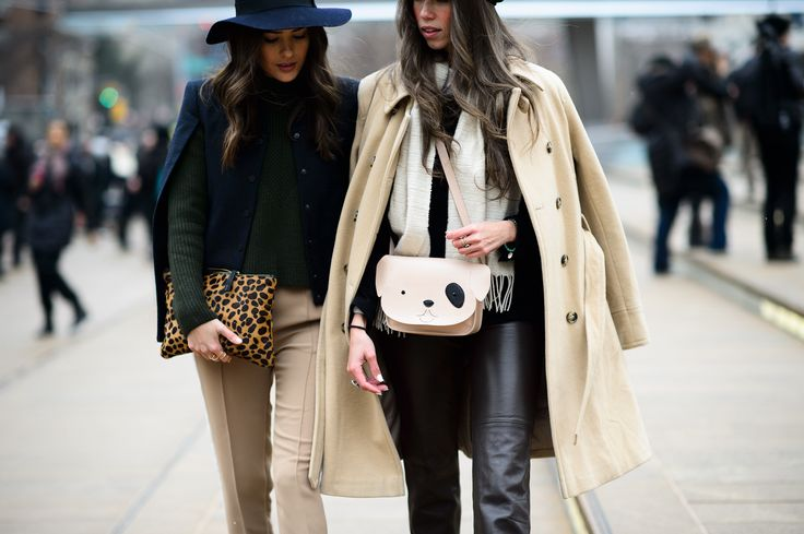 On the Streets of New York Fashion Week Fall 2015 - New York Fashion Week Fall 2015 Street Style Day 1