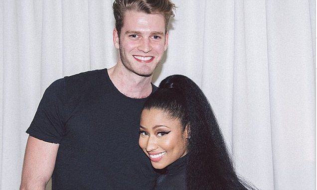Nicki Mnaj receives joke proposal from Princess Diana's nephew