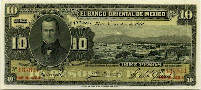 Mexican Peso banknotes Money Currency Bank Notes