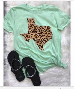 The Turquoise Rose Boutique #texas #tees #leopard #green #western #love #shirt #like #women