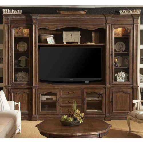 Traditional And Elegant French Classic Design Style Outfits This Thorough  And Classy Entertainment Wall Unit As