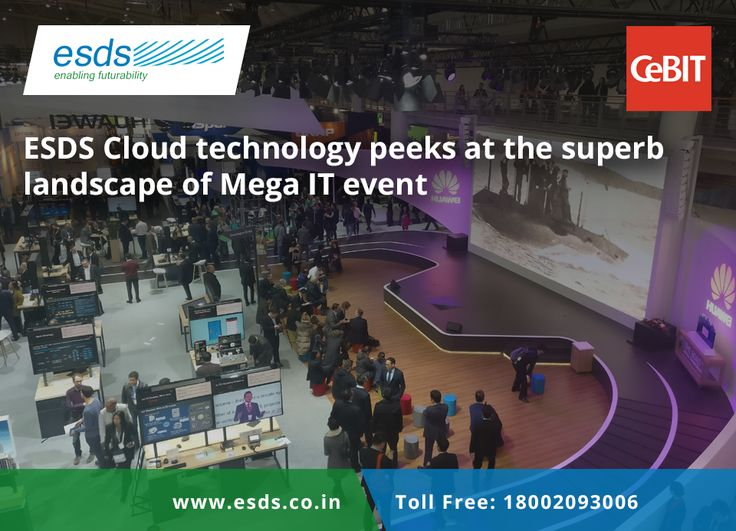 ESDS Cloud Technology peeks at the superb landscape of Mega IT Event  #technology #IT #IOT #cloudcomputing