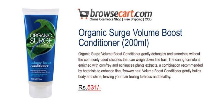 Organic Surge Volume Boost Conditioner 200ml Gently