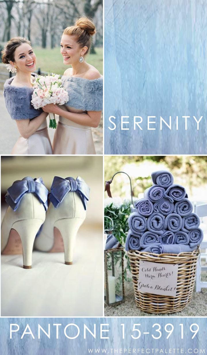 Pantone - Serenity | light blue wedding | www.endorajewellery.etsy.com | something blue: