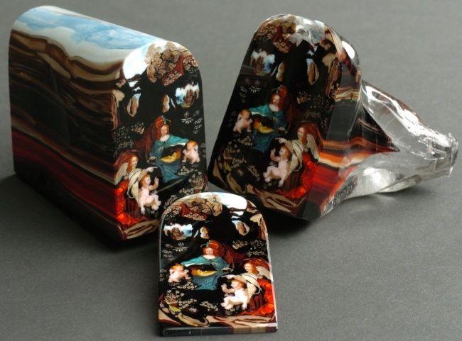 Resultado de imagem para sobremesas que parecem obras de arte