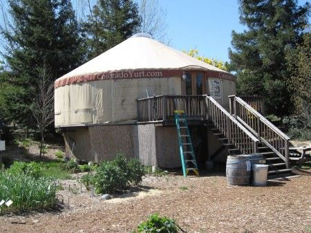 Real Goods Yurts: Tiny Houses