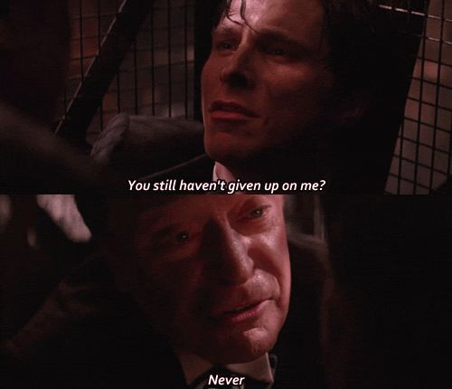 Alfred and Bruce, Batman Begins quote